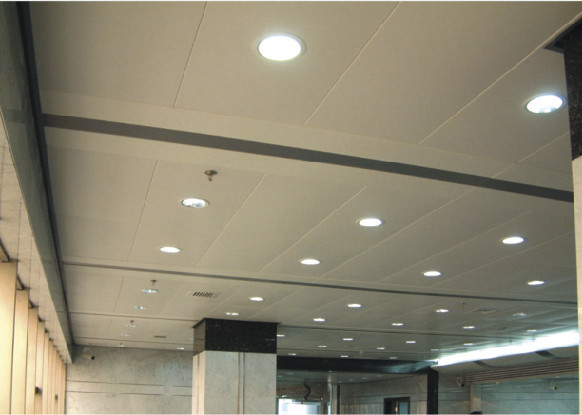 Perforated Acoustic Lay In Ceiling Tiles